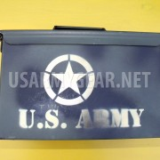 50 Cal Fat M2A1 US Army Military Ammo Can Storage Tool Box w Lid Geocaching Safe