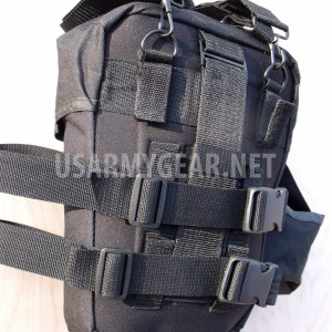 Army Black Tactical Cargo Training Pack Fanny Butt Waist Leg Shoulder Bag Sling