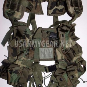 Made in US Army Military Tactical Grenade Carrier Load Bearing Cargo LBV GI Vest