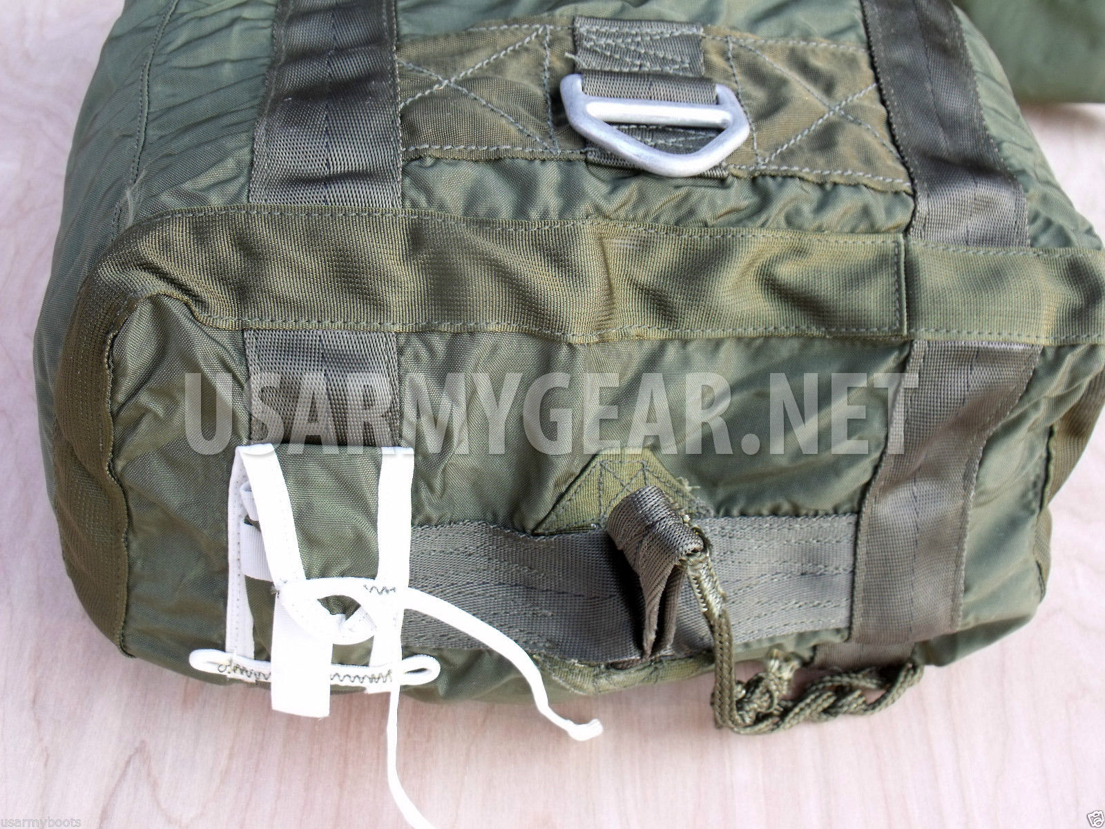 Made in USA Military 22 ft OD Green Cargo Parachute Bag  0bdd06c6e46
