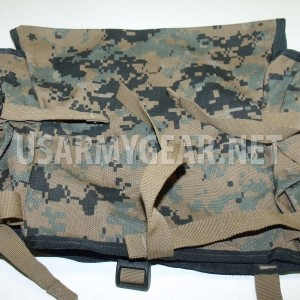 Made in USA marpat ILBE Rucksack Pack USMC Radio Utility Pouch GEN I Black Trim