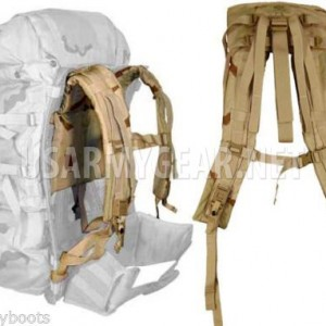 NEW Made in USA Military Army MOLLE II DCU Desert Camo Back Pack Shoulder Straps