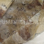 US USMC Army Desert Coyote Camo Netting 5 x 8 Ghillie Mesh Veil Cover Deer Blind