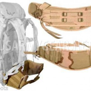 New Made in USA Military Army MOLLE II DCU Desert Camo Back Pack Waist Belt