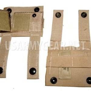 New US Army Issue LC Alice K-bar Adapter Kbar Molle II 2 Desert Tan USGI SDS