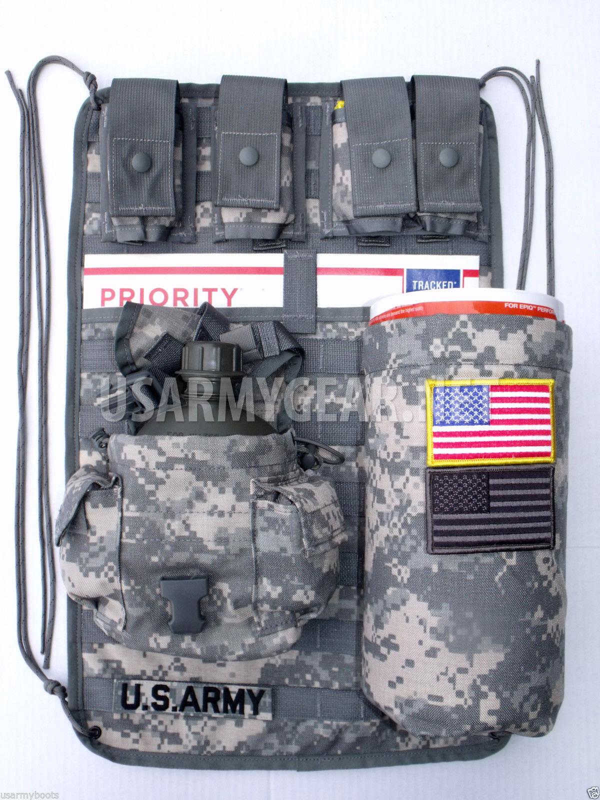 New ACU Military Molle ll Vehicle Panel MVP