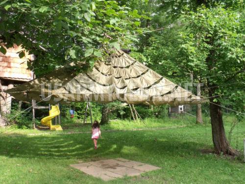 s-l500-12 & US Parachute Canopy Party Tent Garden Umbrella Wedding Patio ...