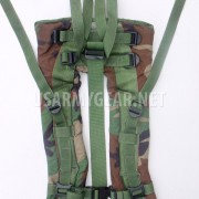 MOLLE II Woodland Backpack Shoulder Straps w. Quick Release