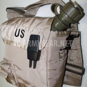 LC Pistol Belt + 2Qt Collapsible Desert Canteen Cover Pouch