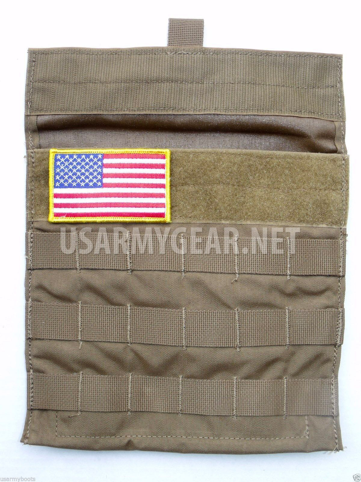 New Molle Coyote Side Plate Carrier Utility Pocket Admin