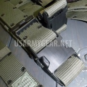 Made in USA US ARMY MARINE Corps OD Nylon Quick Release LC-2 Pistol Belt LARGE L