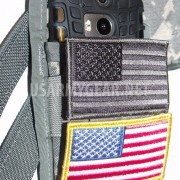 ACU Double Magazin Pouch M4 M16 2 X 30 Round Army Military Phone Case + US Patch