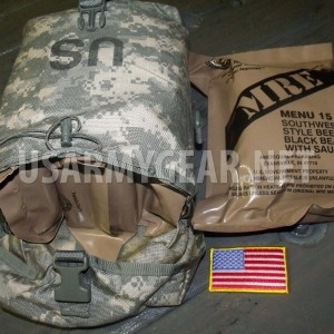 Molle ll ACU Sustainment Utility Pouch for US Army Rucksack Pack Pack Main Bag +