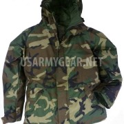 New US Army Cold Wet Weather Gen 1 ECWCS Woodland Goretex Parka Jacket