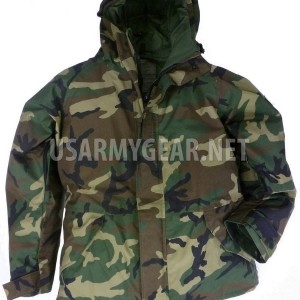 New US Army Cold Wet Weather Gen 1 ECWCS Woodland Goretex Parka Jacket