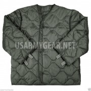 US Army Military M65 Field Jacket Quilted OD Green Coat Liner M-65 S M L XL XXL
