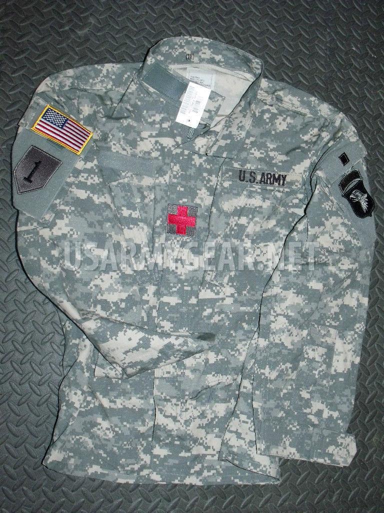 New US Army Military Acu Digital Combat Coat Uniform Shirt ... - photo#4