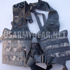 NEW US ARMY ACU MOLLE II FIGHTING LOAD CARRIER VEST FLC LBV RIFLEMAN REAL USGI