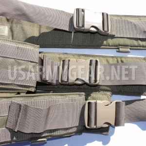 NEW Made in USA Military MOLLE 2 Eagle Industries War Belt Tan Khaki Coyote L,XL
