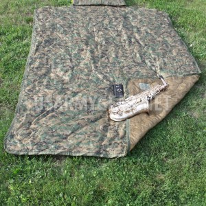 Army USMC Marine Corps Issue Digital Woodland MARPAT Woobie Blanket Poncho Liner