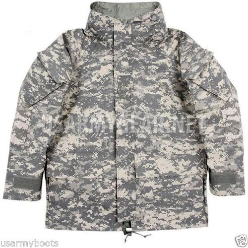 Genuine US Army GEN 2 II EWCWS Goretex Waterproof Acu Parka Jacket S ... 210ad9080