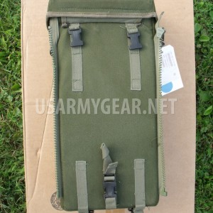 US Army Instrument Supplies Carrying OD Case Shoulder Bag w 2 Sling 17x 8x 6 GI