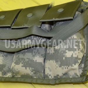 US ARMY* New in bag !! BANDOLEER MOLLE II ACU DIGITAL CAMO AMMUNITION POUCH USGI