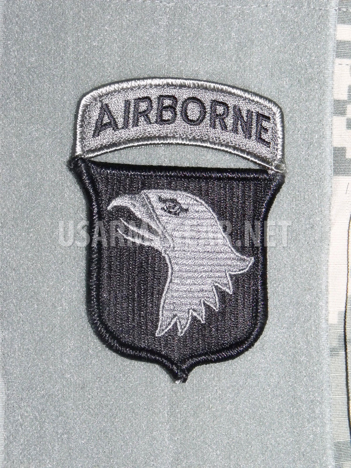 NEW US ARMY 101st Airbone Division ACU Patch w  TAB Velcro Authentic 2ND  freeSH