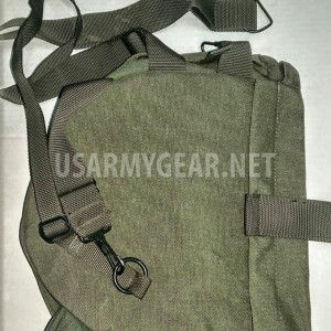 New Made in USA M40 Gas Mask Bag Carrier w Shoulder Strap Bug Out Survival USGI