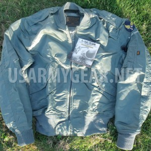 Vintage Made in US Alpha Ind. L-2A L-2B Military Cold Weather Waterproof Jacket
