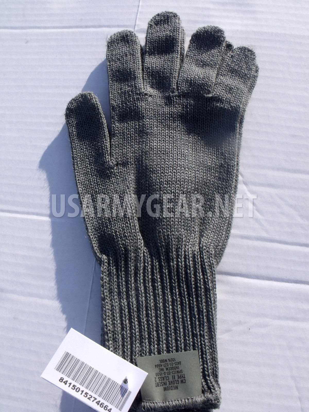 US Army USMC Foliage Green CW Lightweight Glove Insert Medium M   wear as  Gloves 5cfa07d30d