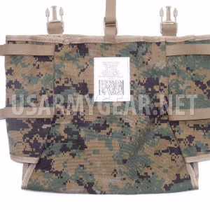 NEW Made in USA marpat ILBE Rucksack Pack USMC Radio Utility POUCH holds 4 MRE's