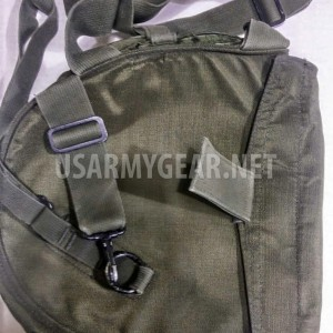 3 Made in USA USGI M40 GAS MASK BAG CARRIER with SHOULDER STRAP SURVIVAL BUG OUT