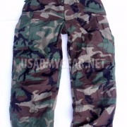US Army Military Woodland Camouflage M65 BDU Cargo Field Pants Trousers + Liner