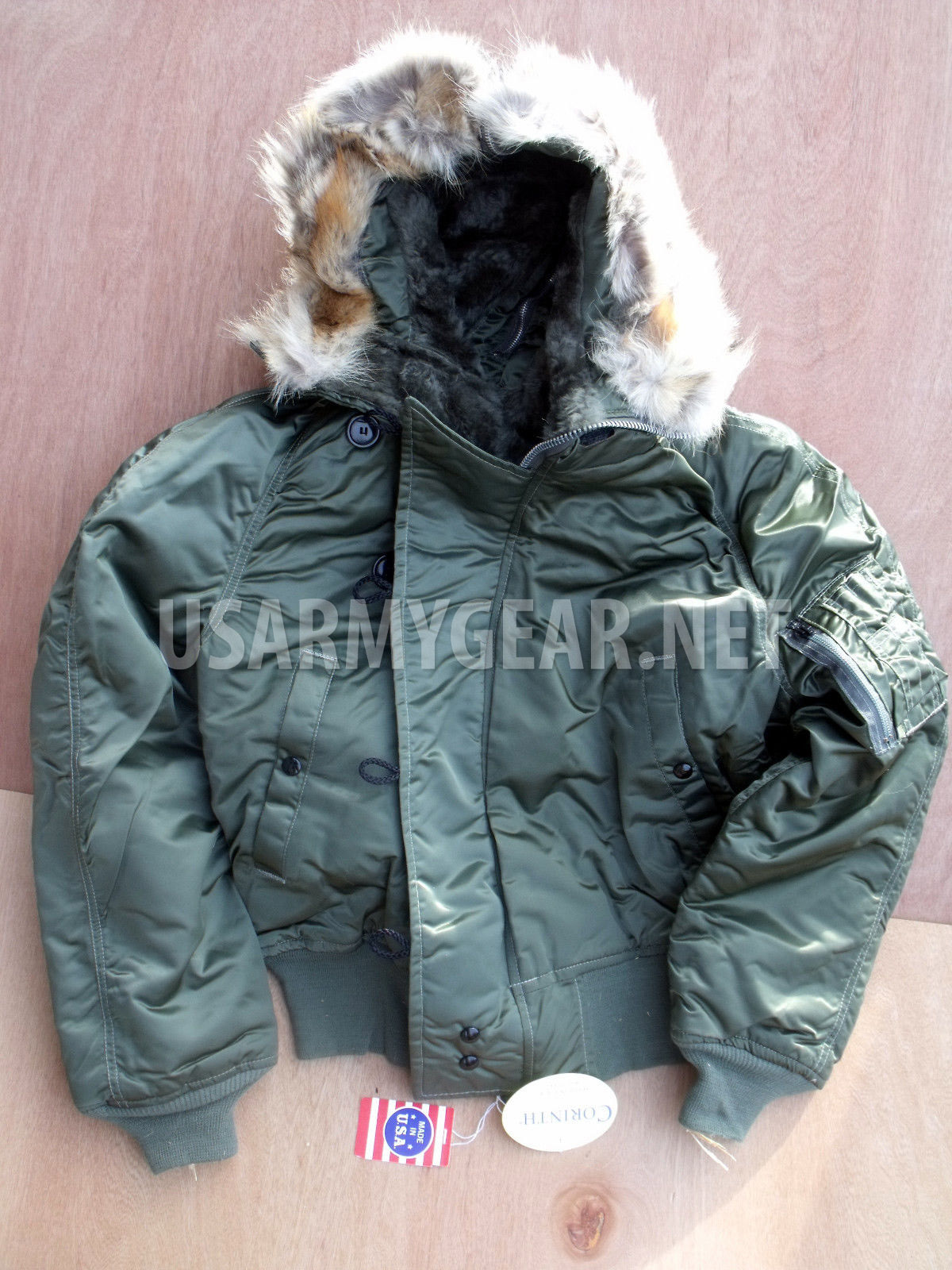 7a9b1f7f213 Made in USA Cold Weather N-2B Parka Pilot