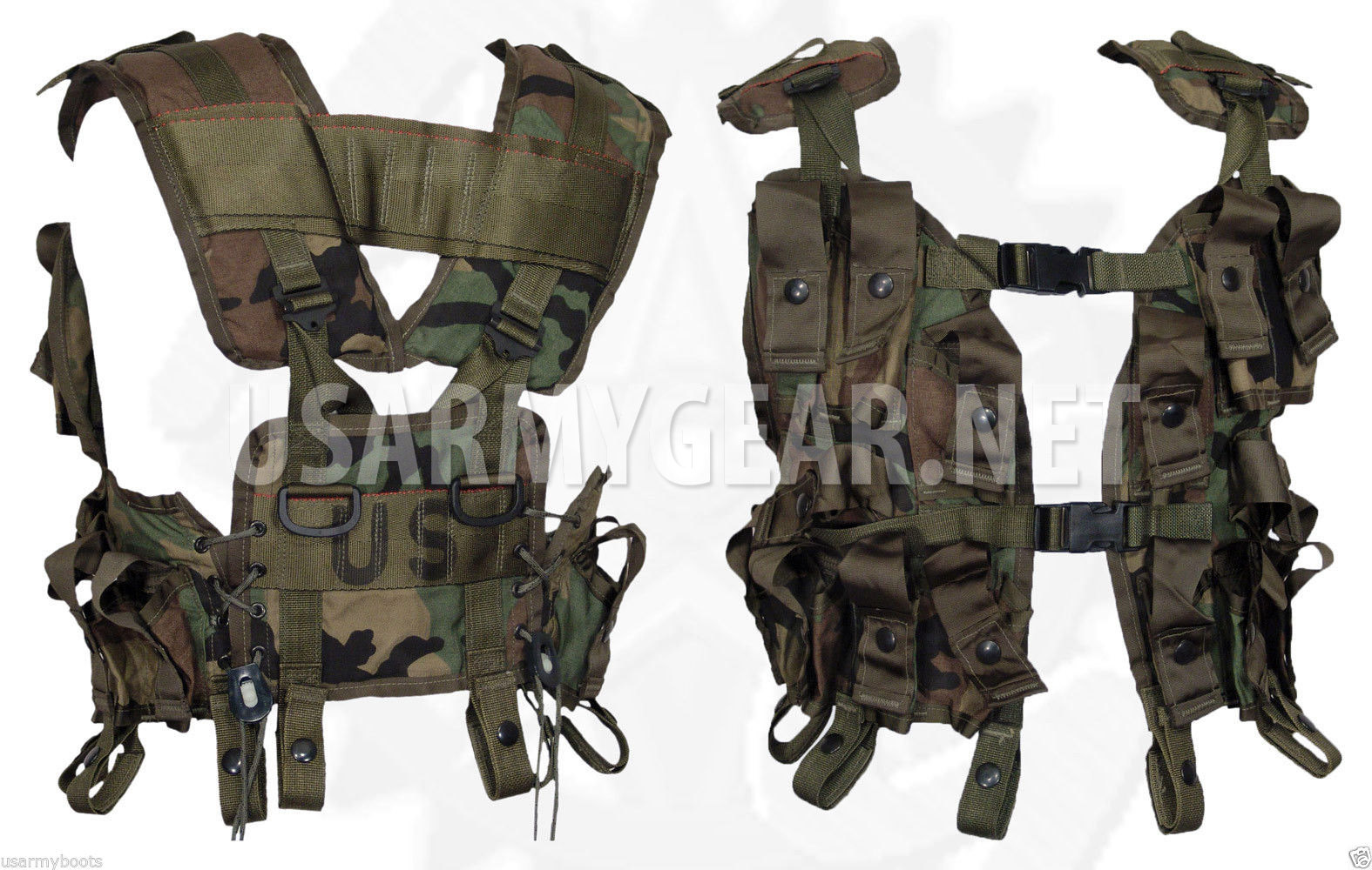 made in us army military tactical grenade carrier load bearing cargo