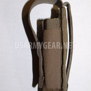 USMC USA Made Molle II 40MM High Explosive Pocket Coyote Tan Single GI Pouch