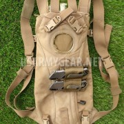 Made in USA Marine ILBE 3L USMC Hydration Carrier Bag Back Pack Coyote + Adapter