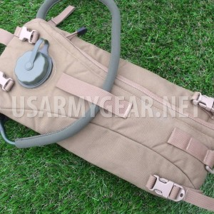 USMC Tactical Hydration System Coyote Marine Carrier Assembly with 3 L Bladder