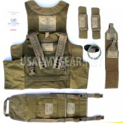 SDS BAE Releasable Body Armor Vest Systems RBAV-SF Ranger + Accessories