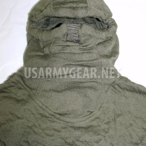 Made in USA Army OD green Anti Flash Balaclava Vehicle Aircrewmen Hood Face Mask