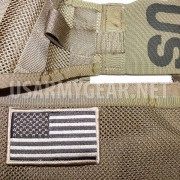 Coyote New US Army American Flag Military Uniform Velcro Patch Standard