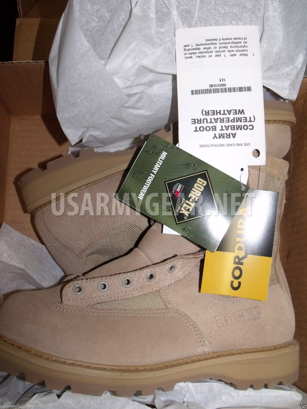 USA Made New 790 G Rocky Desert Goretex Military Boots 10 R  d6193408ab5