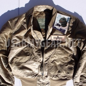 Made in USA Alpha Industries CWU-45P Army Military Pilot Bomber Flight Jacket