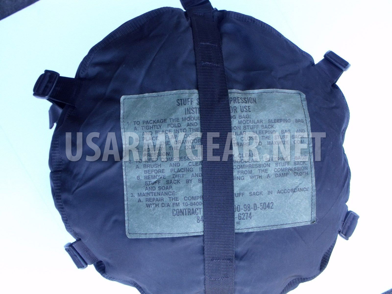 Made In Usa Military Sleeping Bag Compression Sack