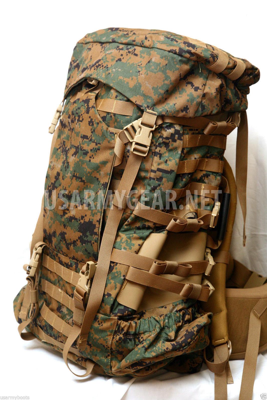 usmc gen 2 complete ilbe back pack rucksack system set assault rh usarmygear net USMC ILBE Hydration Pack USMC ILBE Pack