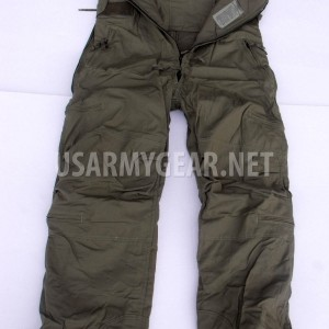 US Army Marine ECW Extreme Cold Weather High Quality Combat V. Pants Overall Bib