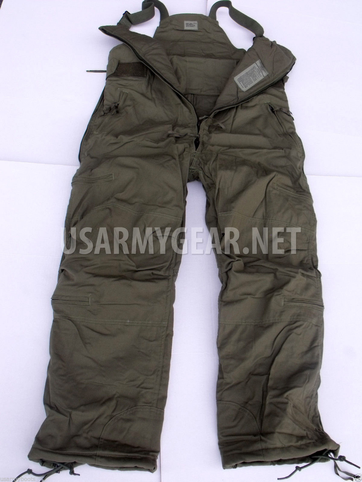 Us Army Extreme Cold Weather High Quality Pants Overall
