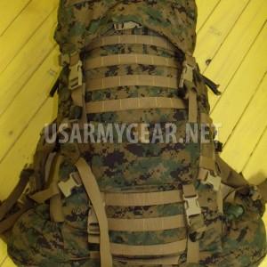 USMC GEN 2 MARPAT TAN WOODLAND ILBE MAIN PACK w LID BELT COMPLETE ARCYTERYX
