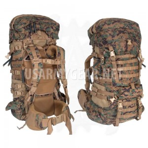 New USMC GEN 2 Marpat Woodland ILBE Main Pack Shoulder Straps Lid Radio Pouch GI
